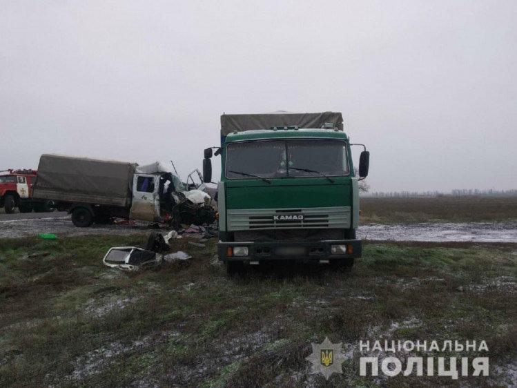 Стали известны подробности аварии с «Газелью» и Камазом на Лозовщине (ФОТО), фото-2