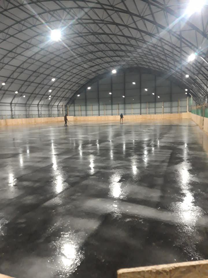 Для хоккея и для развлечений: на Лозовщине, в Близнюках, обустраивают 2 катка, фото-6
