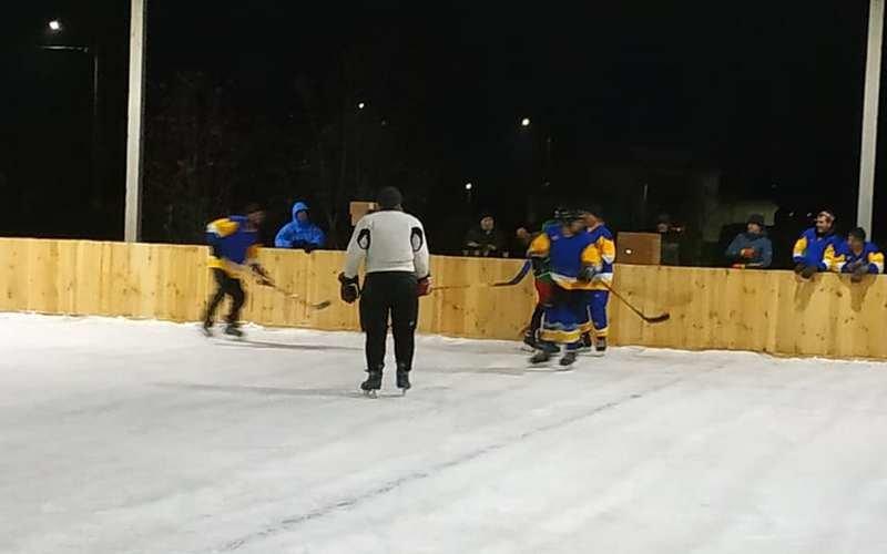 Для хоккея и для развлечений: на Лозовщине, в Близнюках, обустраивают 2 катка, фото-4
