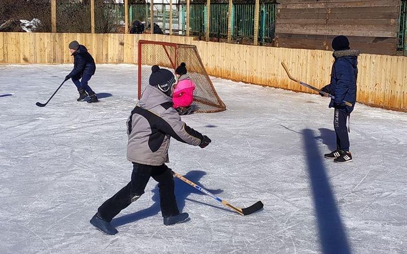 Для хоккея и для развлечений: на Лозовщине, в Близнюках, обустраивают 2 катка, фото-2