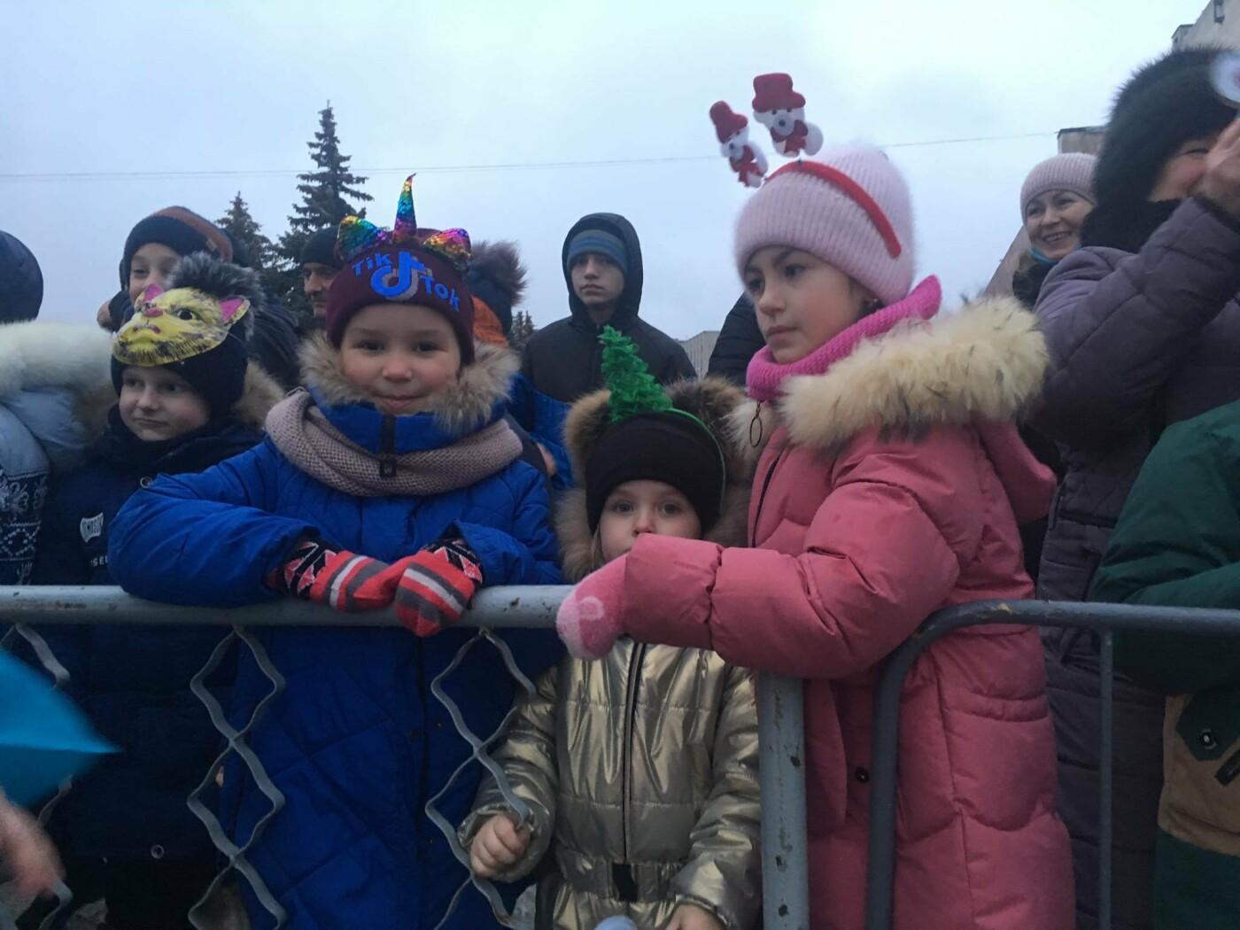 В Лозовой одновременно открыли 2 новогодние ёлки, фото-9