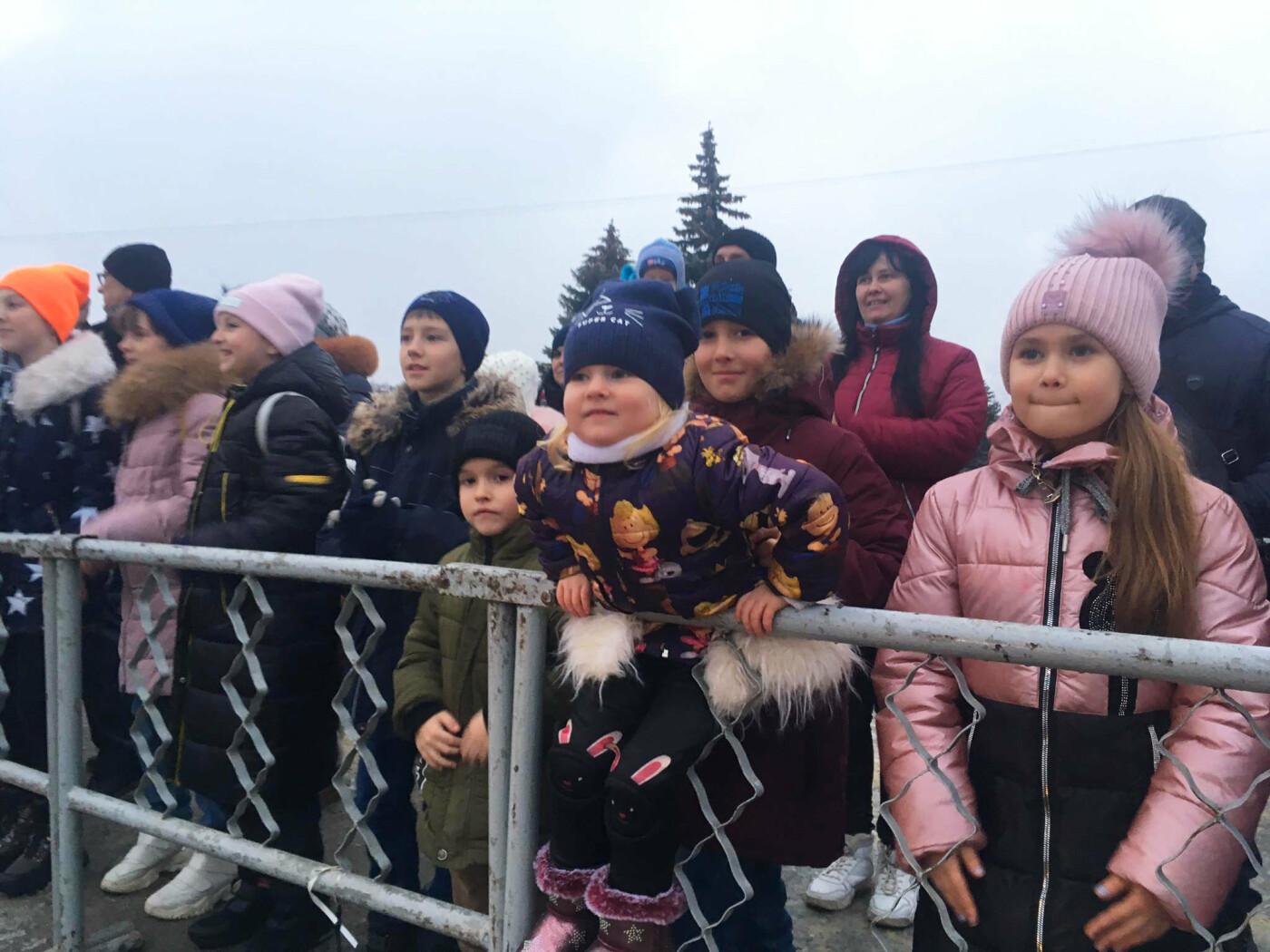 В Лозовой одновременно открыли 2 новогодние ёлки, фото-5