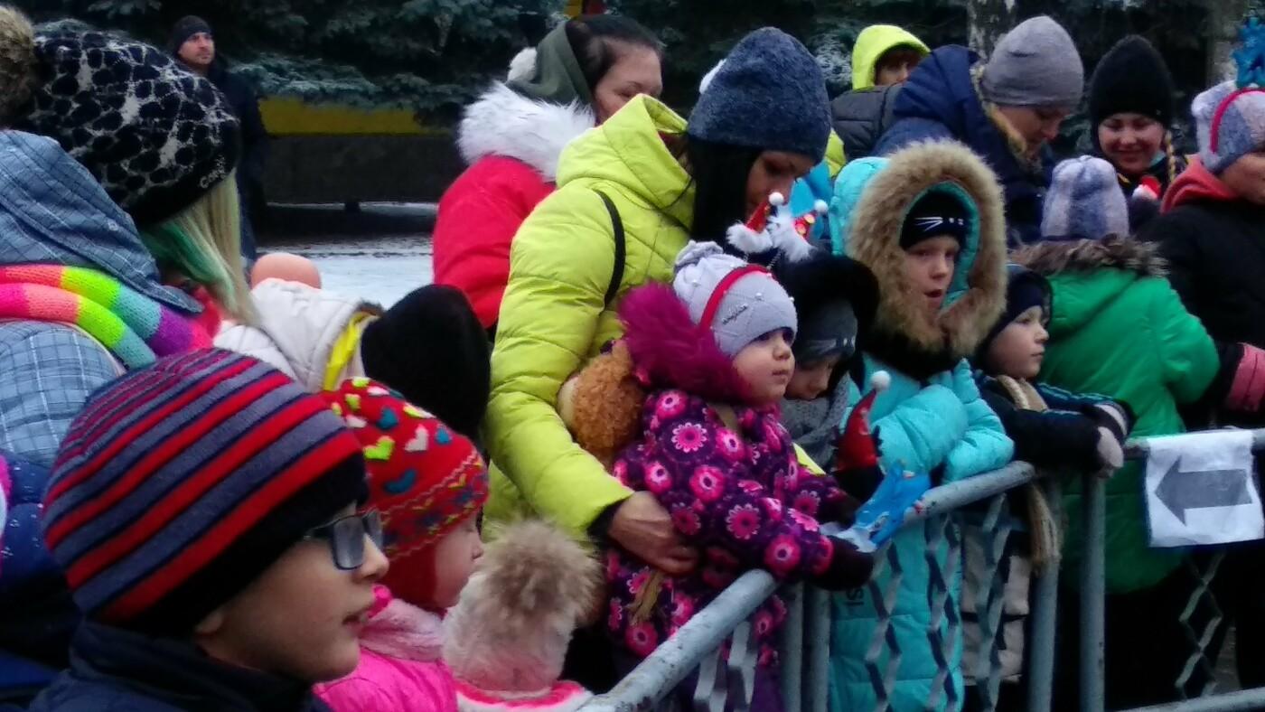 В Лозовой одновременно открыли 2 новогодние ёлки, фото-18