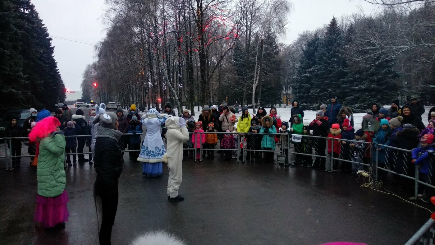 В Лозовой одновременно открыли 2 новогодние ёлки, фото-19