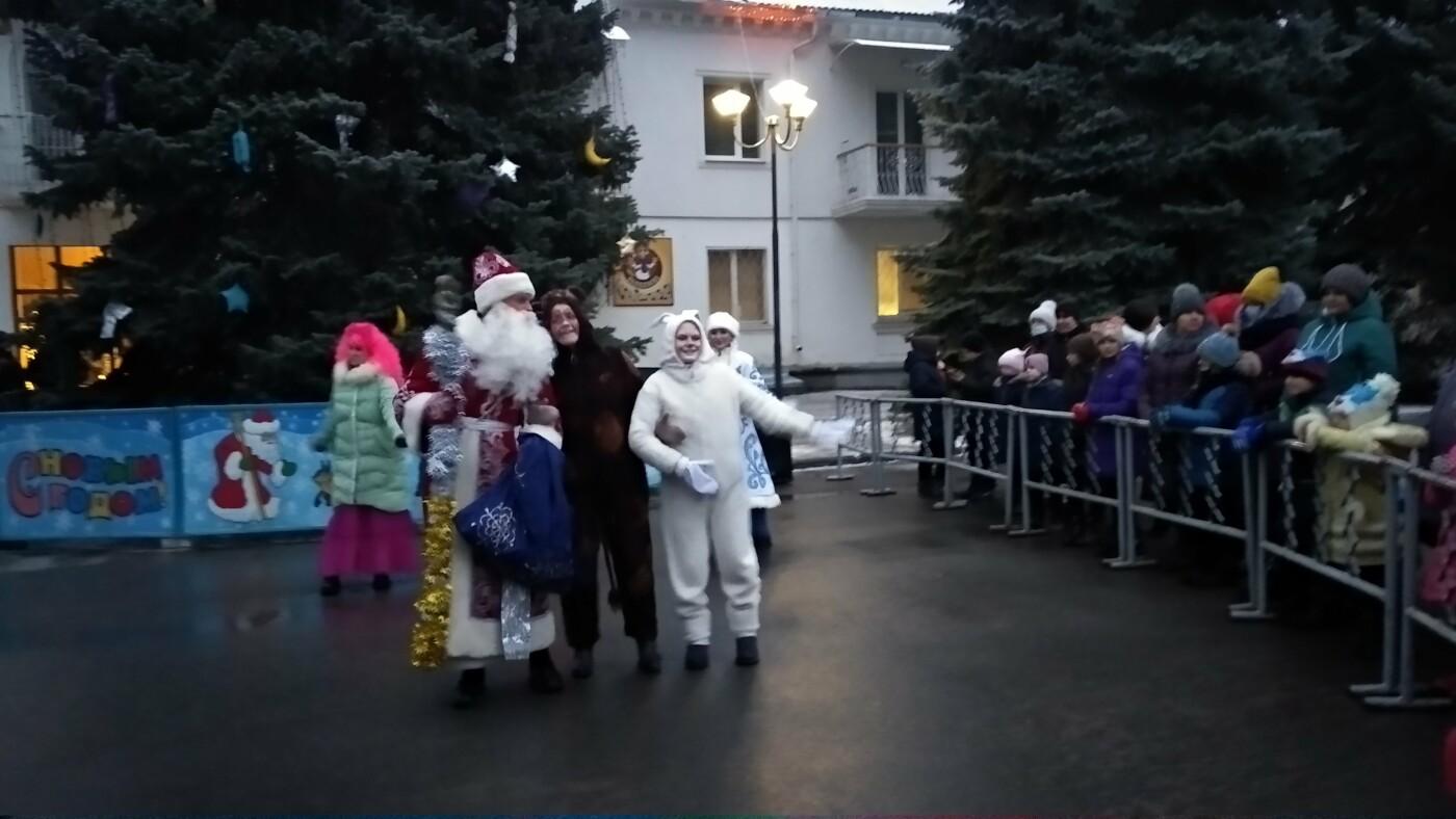 В Лозовой одновременно открыли 2 новогодние ёлки, фото-24