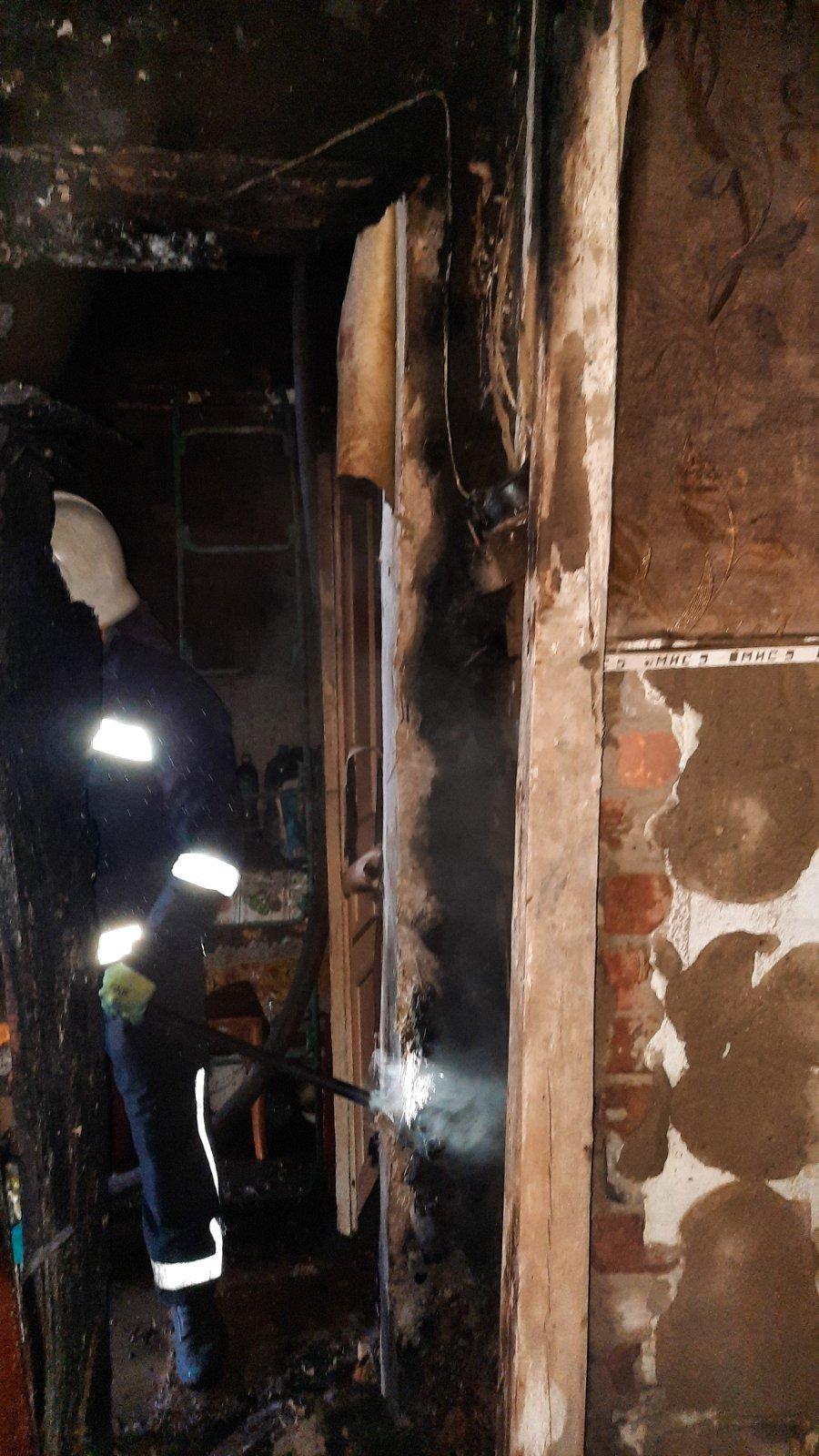 Погибла женщина: на Лозовщине, в Краснопавловке, случился пожар (ИСПРАВЛЕНО), фото-2