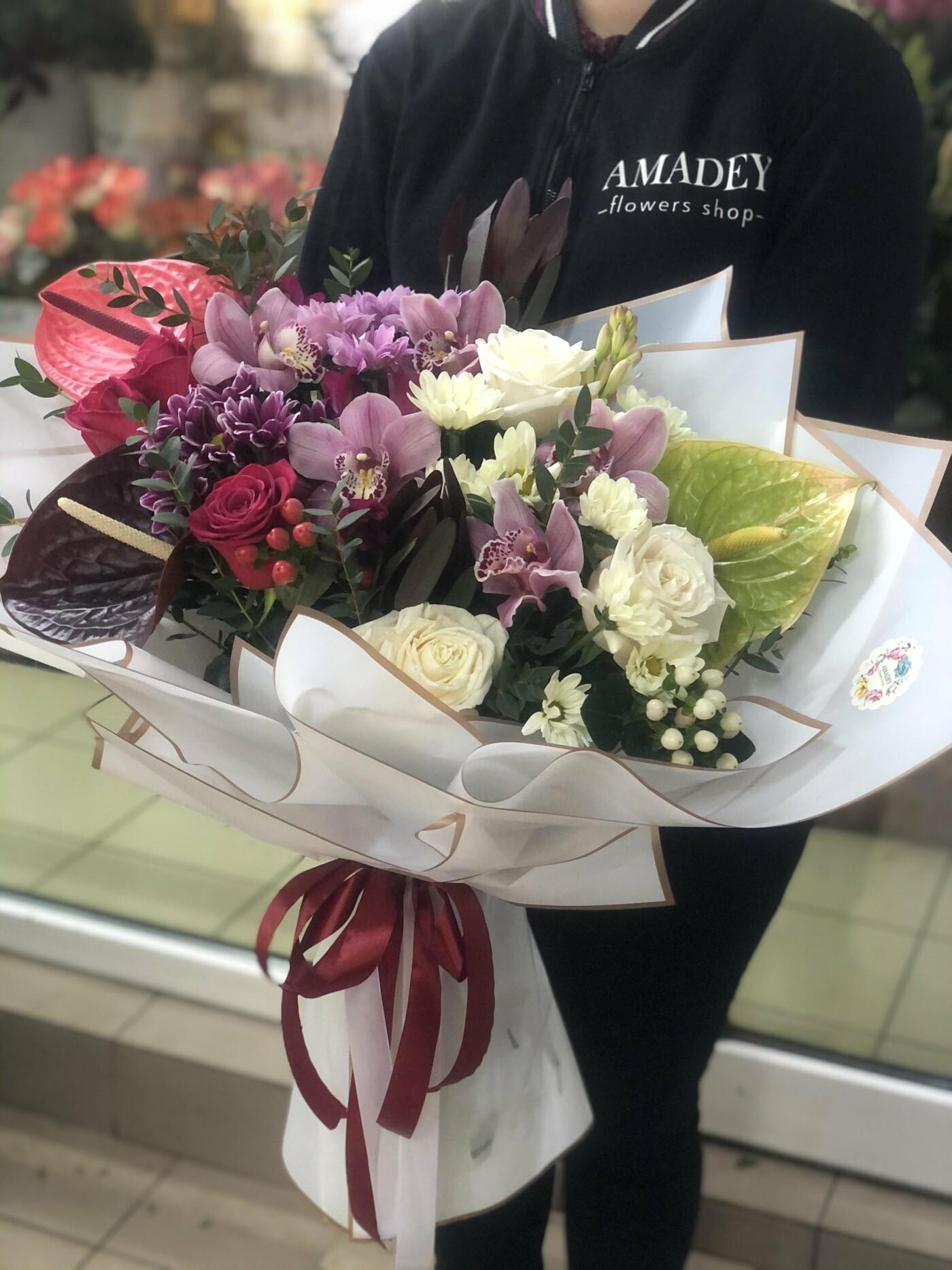 Завжди готові дивувати лозівчан: креативні букети у квітковому салоні «Amadey flowers» , фото-4