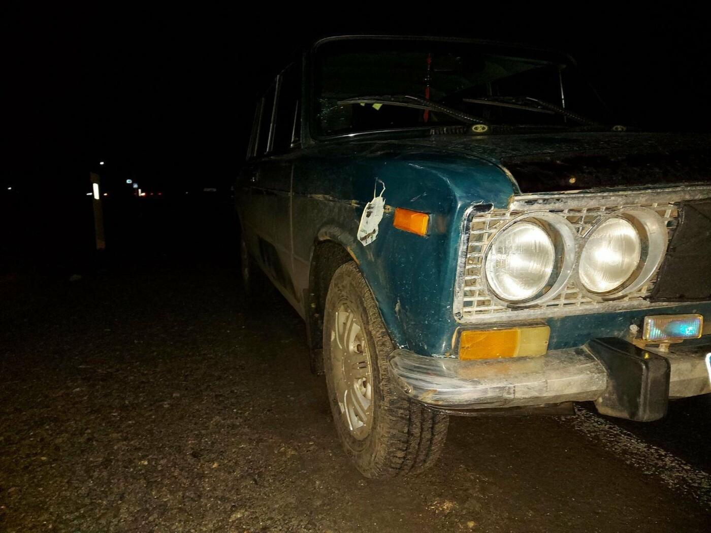 На Лозівщині автомобіль збив жінку на пішохідному переході, фото-1
