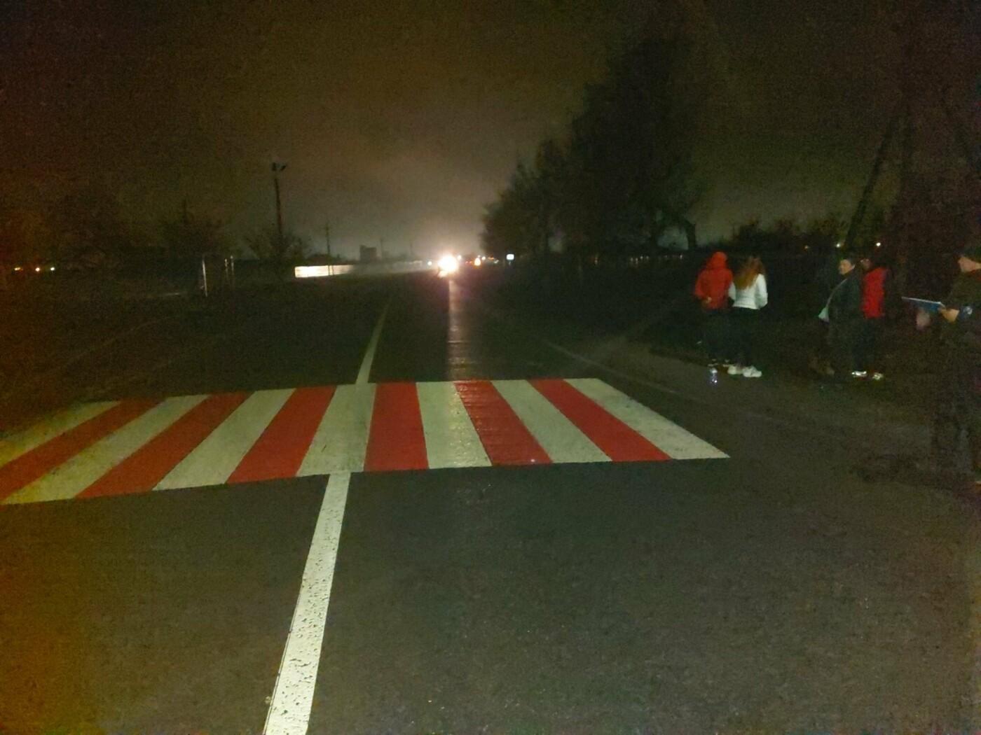 На Лозівщині автомобіль збив жінку на пішохідному переході, фото-2