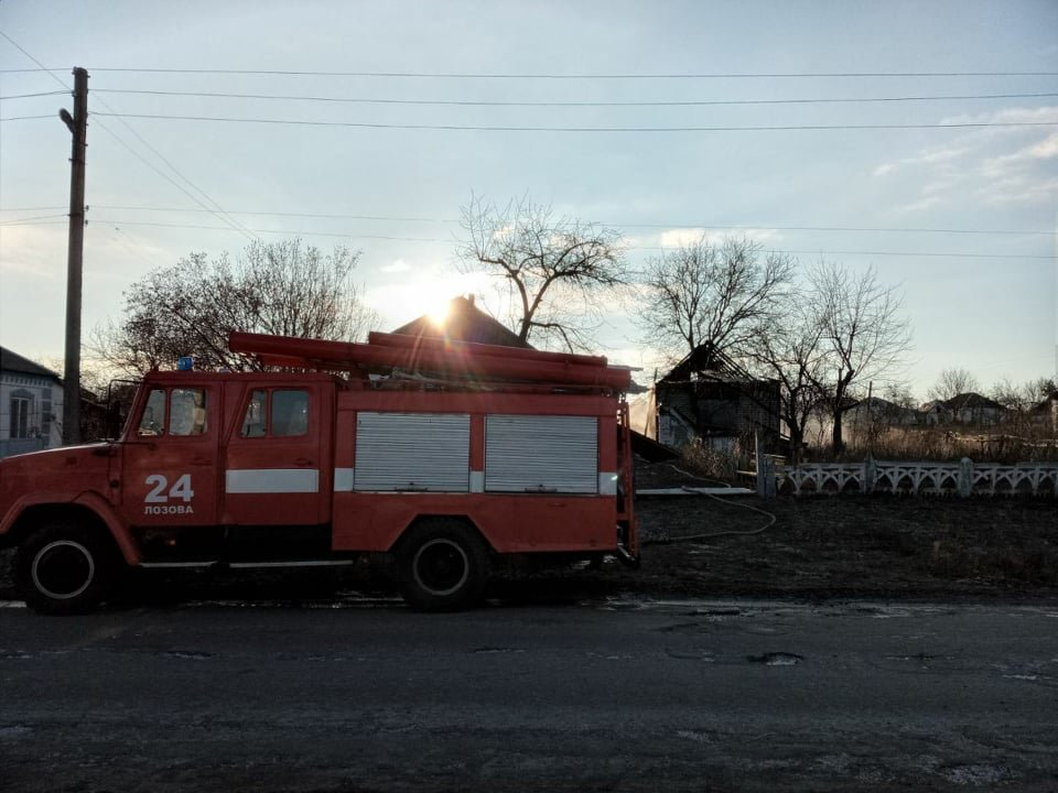 На Лозівщині сталося 2 пожежі, в одній - загинув чоловік, фото-2