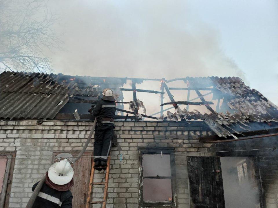 На Лозівщині сталося 2 пожежі, в одній - загинув чоловік, фото-3