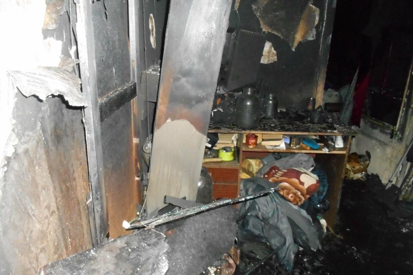 На Лозівщині через пожежу загинув чоловік, вдалося врятувати двох дітей , фото-1