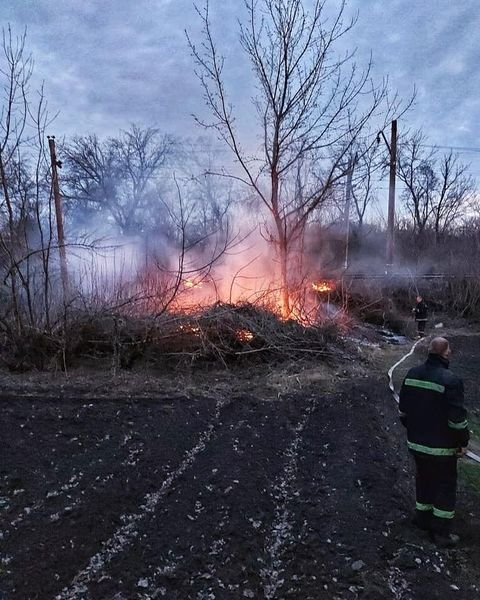 Вигоріло 2 гектари: на Лозівщині на вихідних трапилось 4 пожежі сухої трави, фото-2