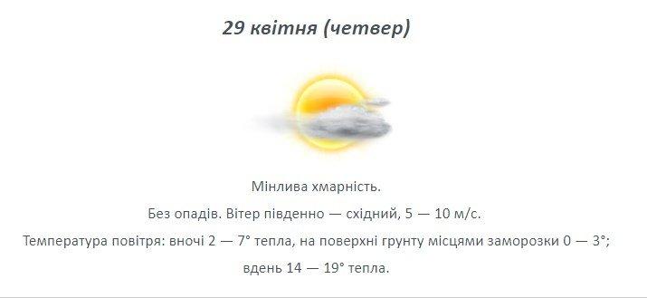 Останній тиждень квітня: якою буде погода на Лозівщині , фото-3