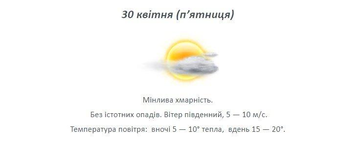 Останній тиждень квітня: якою буде погода на Лозівщині , фото-4