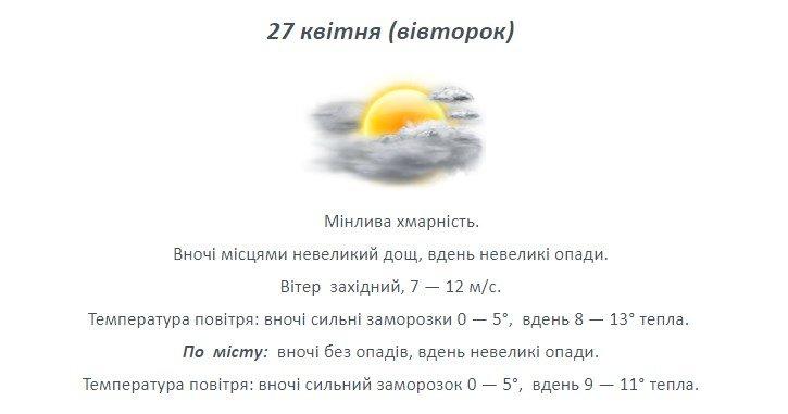 Останній тиждень квітня: якою буде погода на Лозівщині , фото-1