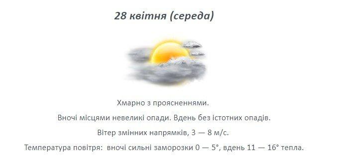 Останній тиждень квітня: якою буде погода на Лозівщині , фото-2