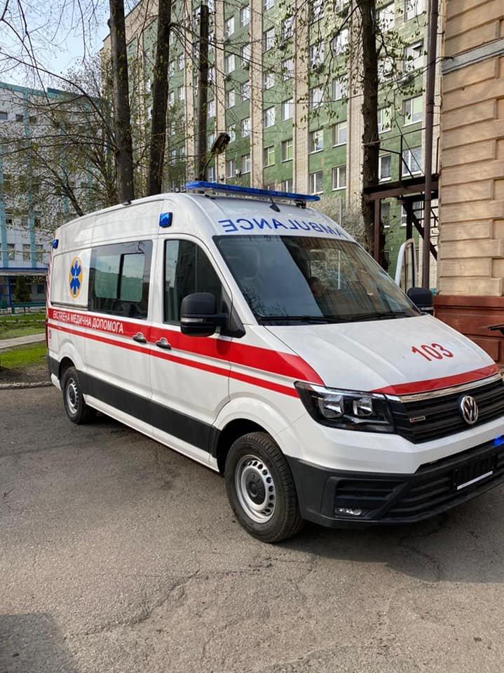 На Лозівщині з'являться 2 нових автомобілі «швидкої», фото-1