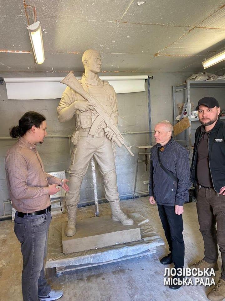 У Лозовій затвердили макет пам'ятника «Бійцям за незалежність України», фото-2