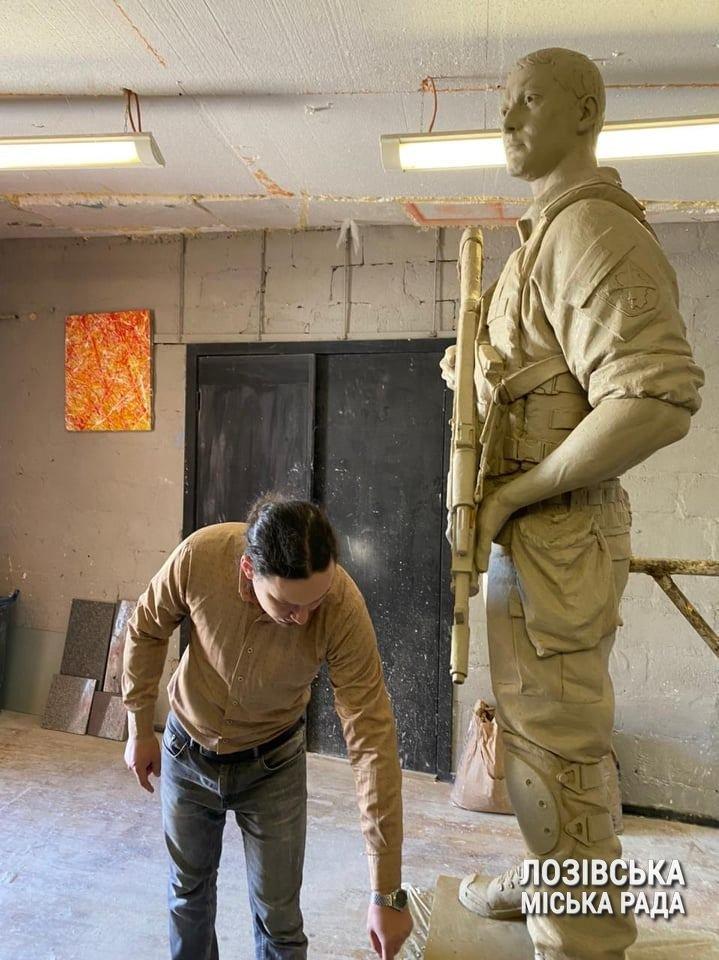 У Лозовій затвердили макет пам'ятника «Бійцям за незалежність України», фото-1