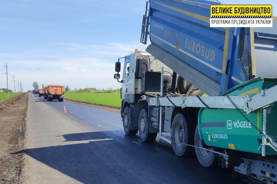 Дорожники показали, як виглядає ремонт ділянки біля Нової Іванівки на Лозівщині, фото-6