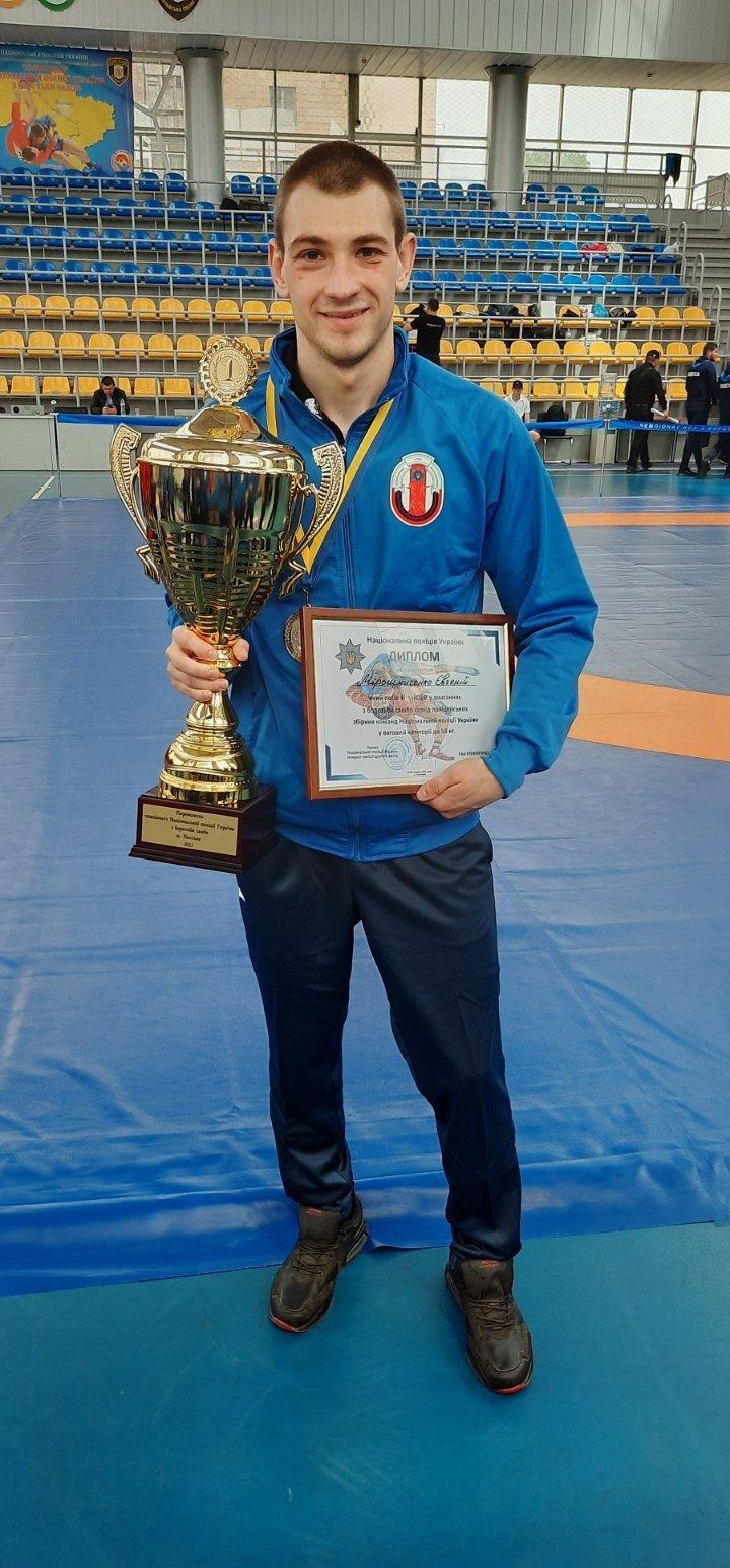 Друга участь і перемога: поліцейський з Лозової отримав нагороду на чемпіонаті з самбо, фото-2